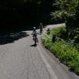 檜原湖岸をサイクリング